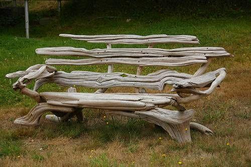 Le bois flotté pour une décoration inspirée du jardin ! - Jardin ...