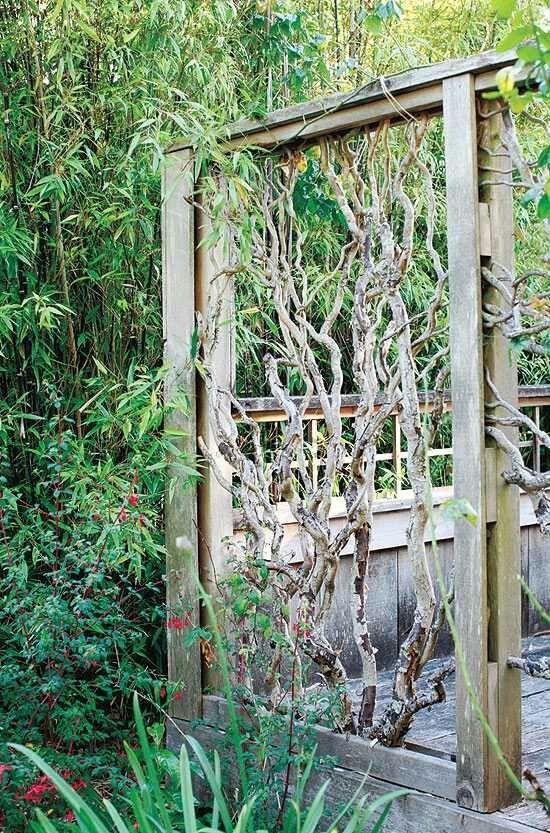 Le bois flott pour une d coration inspir e du jardin for Banc en bois flotte