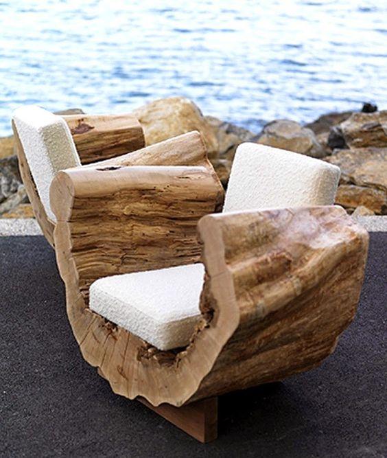 Le bois flotté pour une décoration inspirée du jardin ! - Jardin de ...