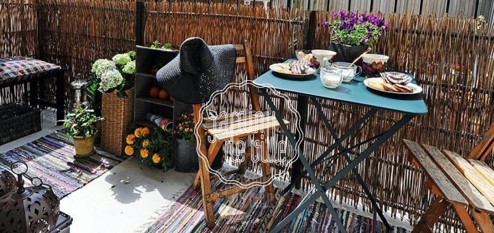 Le balcon un petit îlot de verdure