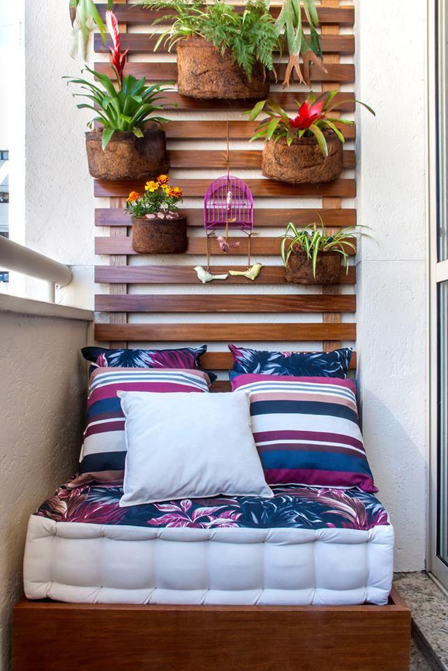 Le balcon un petit îlot de verdure 5