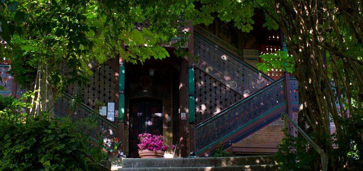 Visite du jardin partagé Saint-Serge